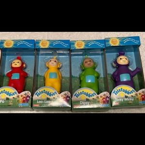 Vintage 1998 Teletubbie Set Of 4 New in Box